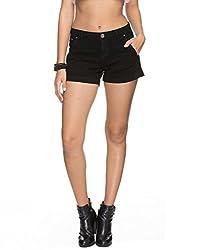 TARAMA Black shorts for womens