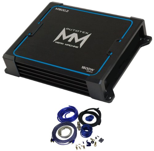 Buy Autotek M1600 2 1600 Watt Mean Machine Series 2 Channel