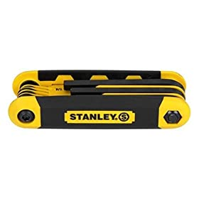 Stanley 90-391 SAE and Metric Folding Hex Key