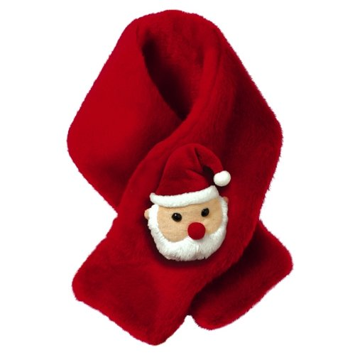 Grasslands Road Children's Plush Santa Scarf
