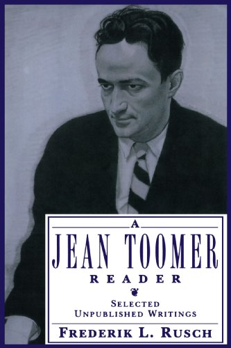 A Jean Toomer Reader: Selected Unpublished Writings