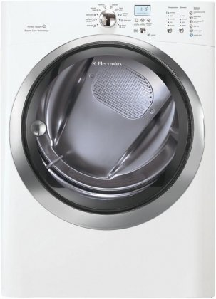 Electrolux EIMGD60JIW IQ-Touch 8.0 Cu. Ft. White Stackable With Steam Cycle Gas Front Load Dryer