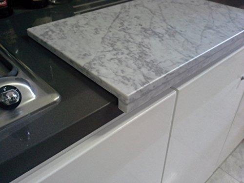 Top cucina ceramica tagliere in marmo for Tagliere in marmo
