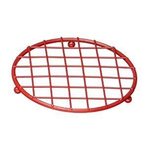 Premier Housewares Helix Trivet, Red