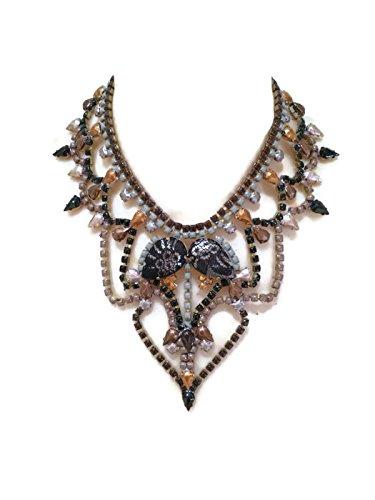 sass-my-bide-painted-rhinestone-chain-bib-necklace