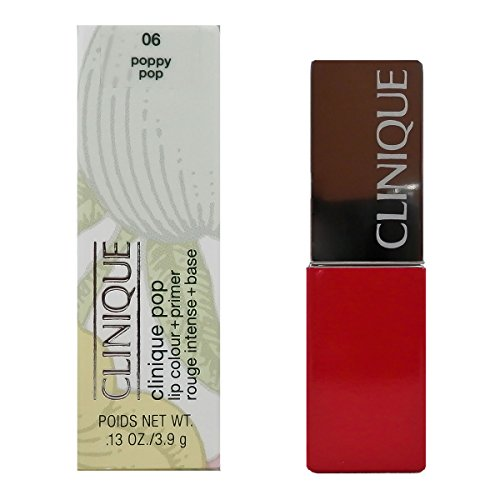 Clinique Rossetto, Pop Lip Color, 3.9 gr, 06-Poppy Pop
