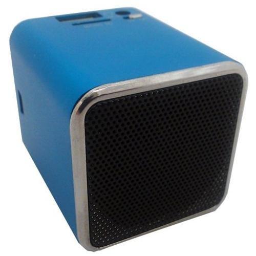 Snowfire Cube-Bl Cuboid Portable Speaker - Blue