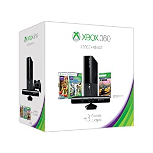 Xbox 360 E 250GB Kinect Holiday Value Bundle by Microsoft
