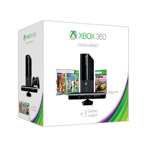 Xbox 360 E 250GB Kinect Holiday Value Bundle image