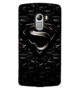 "ColourCraft Alphabet ""S"" Design Back Case Cover for LENOVO VIBE X3 LITE"
