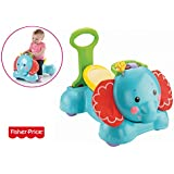 Fisher Price CBN62 - Elefante Rimbalzante 3 in 1