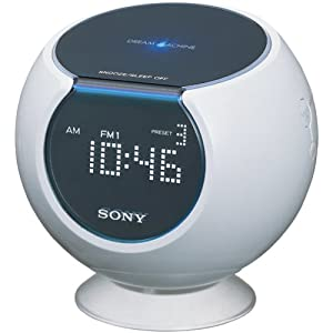 Amazon.com: Sony ICF-C763 Dream Machine AM/FM Clock Radio with Digital
