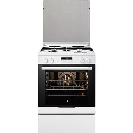 Electrolux EKM6770AOW cuisinière - fours et cuisinières (Autonome, Blanc, Electrique, Combiné, conventionnel, décongeler, Grill, A-20%)