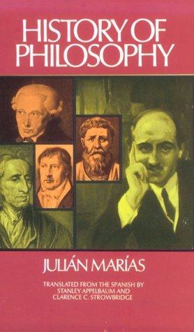 History of Philosophy (Historia de la Filosofia), JULIAN MARIAS
