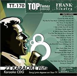 Top Tunes Karaoke CDG Frank Sinatra TT-170