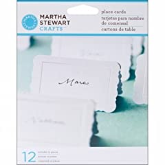 Martha Stewart Crafts Place Cards Flourish