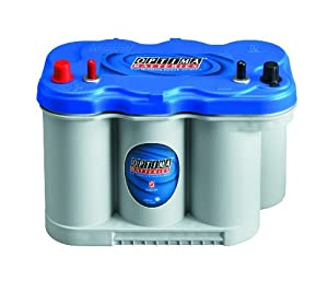 Optima Batteries 8027-127-FFP D27M BlueTop Starting and Deep Cycle Marine Battery