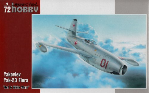 SPH72248 1:72 Special Hobby Yak-23 Flora