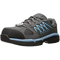 Skechers Work Conroe Kriel Womens Shoes (Gray/Blue)