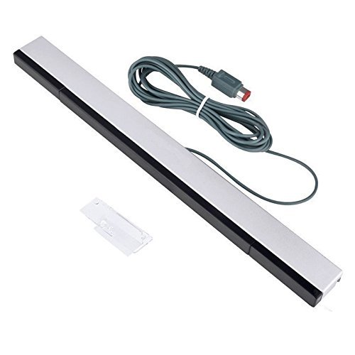 New Wii Sensor Bar, CAVN Good Quality Wired Infrared Ray Sensor Bar for Nintendo Wii and Wii U Console (Wii U Sensor Bar Usb compare prices)