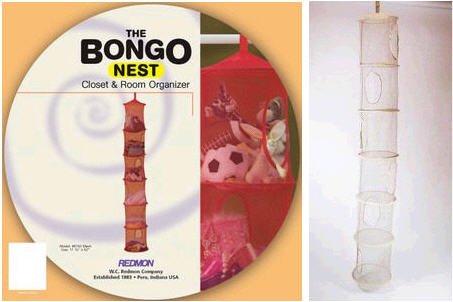 W C Redmon Bongo Nest Storage Unit, Khaki, Fabric front-490091