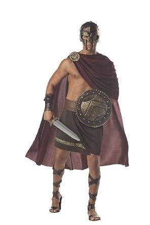 Mens MED (40-42)- Spartan Warrior Costume (See details for Accessories) (Medium)