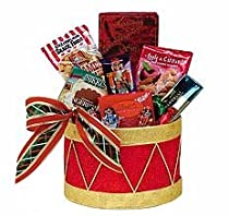 March To The Beat Christmas Holiday Gourmet Food Gift Basket