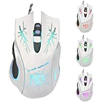 Wired Mouse Welcomeuni 5500 DPI 6D LED Optical USB Wired PRO Game Mouse For PC Laptop Gaming - B01F6ZF3FK