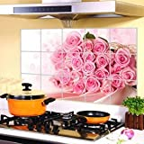 Kitchen Wall Stickers Foil oil sticker Decal Home Decor Art Accessories Decoration (75*45cm)