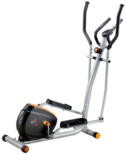 V-fit BK11-ET Magnetic Elliptical Trainer - Silver Grey/Black