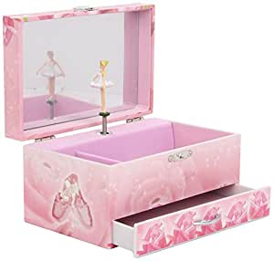 trousselier s60974 spieluhr xl mit schublade white ballerina spieldose musikdose. Black Bedroom Furniture Sets. Home Design Ideas