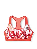 adidas Sujetador Deportivo Racerback America Sport-BH (Rojo / Coral)