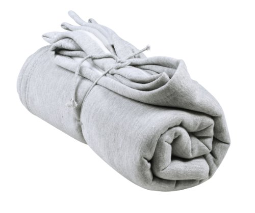 Simplicity Sweatshirt Blanket Throw Stadium Sports Plain , Grey front-164734