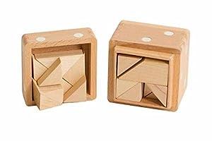Dice Box Puzzle - Half Cubes