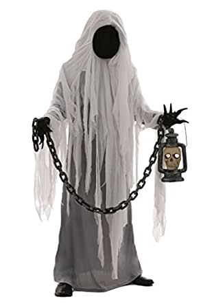 Fun Costumes mens Adult Spooky Ghost Costume