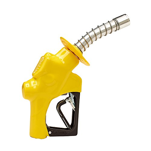 Husky 173310N-05 New VIII Heavy Duty Diesel Nozzle with Three Notch Hold Open Clip, Full Grip Guard and Yellow Hand Guard (Husky 3 8 Hose compare prices)