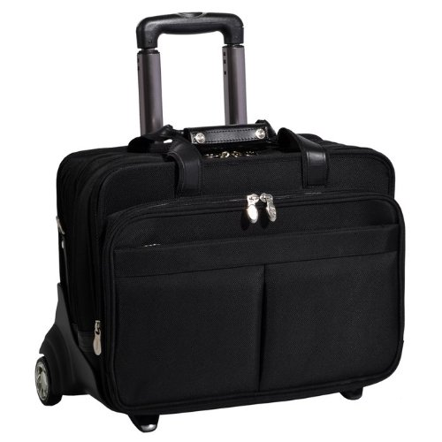 Mcklein 74555 Nylon Laptop Case Included Removable Laptop Sleeve
