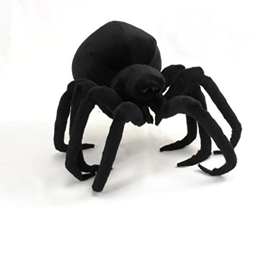 "Wishpets 13"" Black Spider Plush Toy"