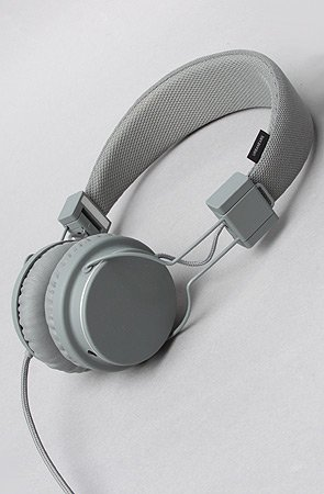 Karmaloop Urbanears The Plattan Headphones With Mic Dark Gray