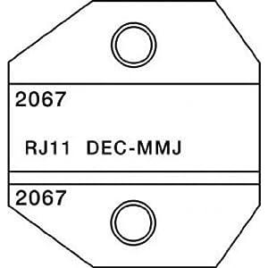 paladin tools 2067 rj11 dec mmj die for crimpall 8000 1300 series crimpers. Black Bedroom Furniture Sets. Home Design Ideas