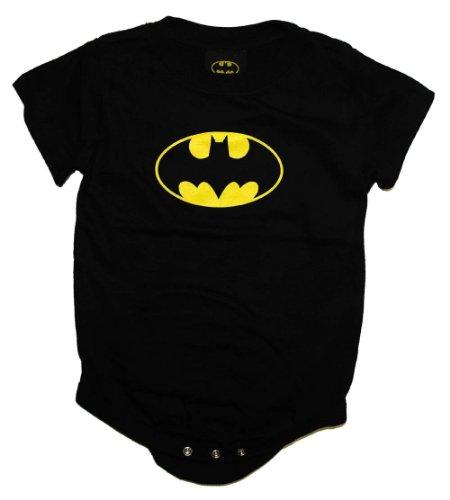 : DC Comics Batman Creeper Romper Onesie Size: 0-6 Months