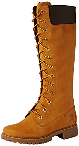 Timberland Ek W Prem 14In Zip, Stivali alti, Donna, Marrone (Marron (wheat)), 38