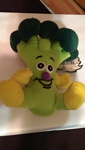 "TOY BOX VEGGIE FRIEND SEEDIES LIMITED EDITION ""CHARLES BROCCOLI"" STUFFED PLUSH 5"" - 1"