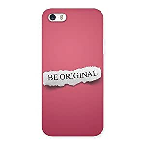 Enticing Be Orignal Multicolor Back Case Cover for iPhone 5 5S