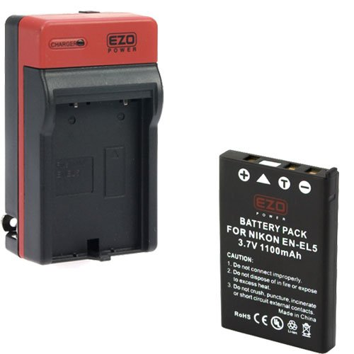 EZOPower Digital Camera Replacement Battery 1100mAh EZCBA23