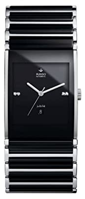 Rado Men's R20852702 Integral Analog Display Swiss Automatic Black Watch