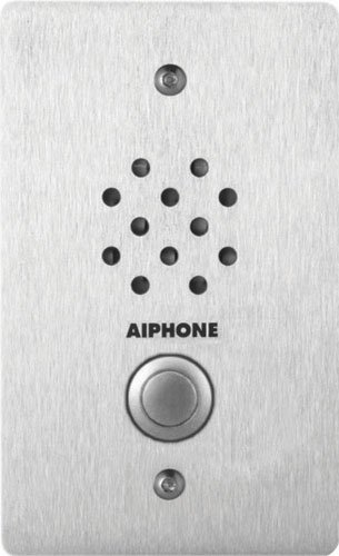 Aiphone Le-Ss-1G Vandal-And Weather-Resistant Single-Gang Door Station For Use With Ax, Laf/Ldf-C, Lem, Lef, Mp-S Series Intercom Systems front-548404