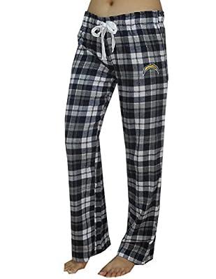 NFL San Diego Chargers WOMENS Plaid Pajama Pants