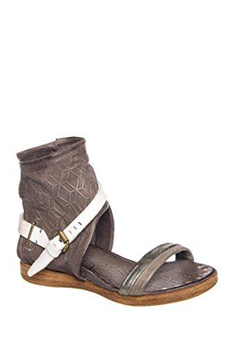 Benson Ankle Strap Flat Sandal