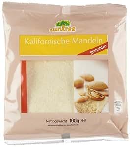 Selection Mandeln blanchiert, gemahlen, 25er Pack (25 x 100 g Beutel)